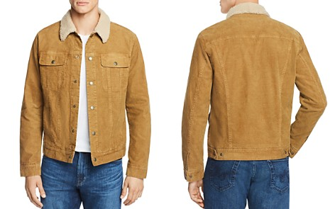 AG Faux Shearling-Trimmed Corduroy Jacket - Bloomingdale's_2