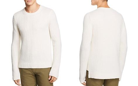 Helmut Lang Waffle-Rib Stitch Crewneck Sweater - Bloomingdale's_2
