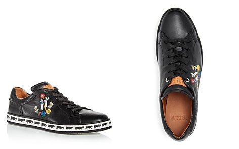 Bally Men's Anistern Embroidered Leather Lace Up Sneakers - Bloomingdale's_2