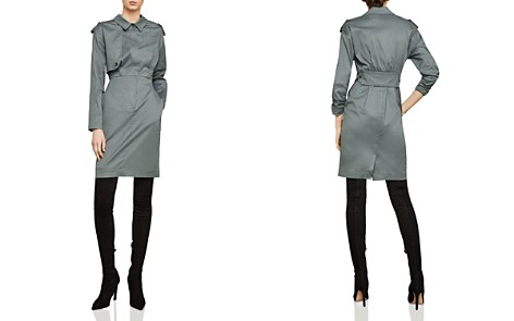 BCBGMAXAZRIA Trench Dress - Bloomingdale's_2