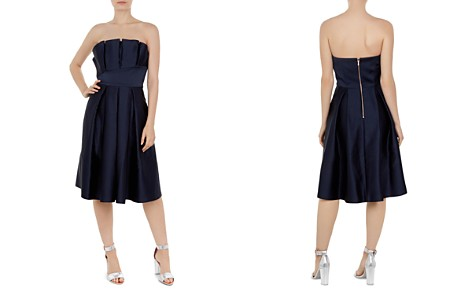Ted Baker Pippaa Strapless Pleated Dress - Bloomingdale's_2