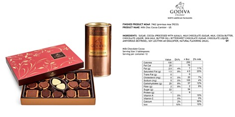 Godiva® 32 Piece Biscuit and Cocoa Gift Box - Bloomingdale's_2