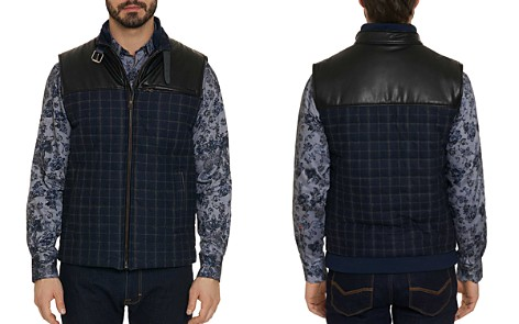 Robert Graham McClement Mixed-Media Plaid Quilted Vest - Bloomingdale's_2