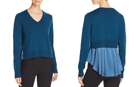 Elie Tahari Deangelo Mixed Media Sweater - Bloomingdale's_2