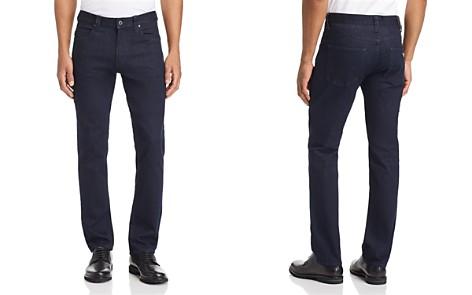 Emporio Armani Five-Pocket Straight-Leg Jeans in Dark Blue - Bloomingdale's_2