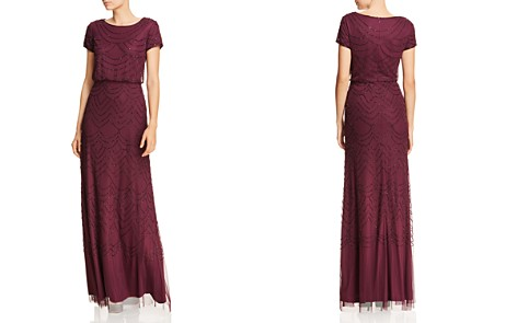 Adrianna Papell Beaded Blouson Gown - Bloomingdale's_2