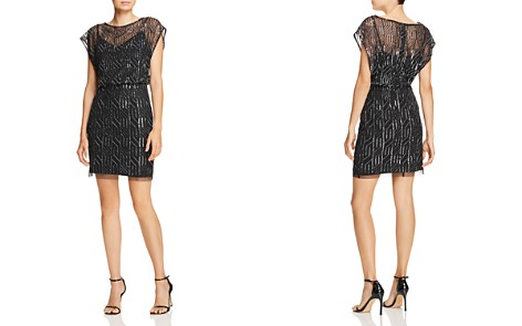 Aidan Mattox Embellished Blouson Dress - Bloomingdale's_2
