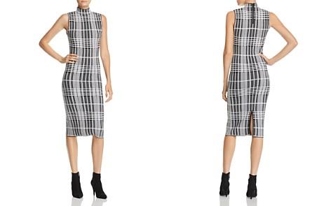 Alice + Olivia Hana Plaid Wool Midi Dress - Bloomingdale's_2