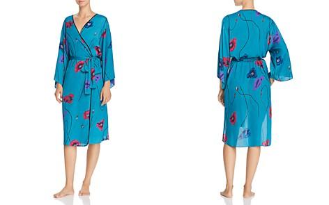 Josie Freestyle Printed Satin Long Robe - Bloomingdale's_2