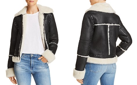 Sunset & Spring Faux-Shearling Studded Jacket - 100% Exclusive - Bloomingdale's_2