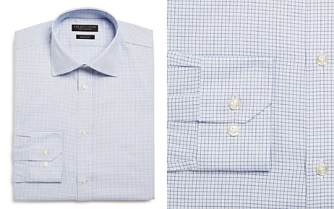 The Men's Store at Bloomingdale's Tattersall Check Regular Fit Dress Shirt_2