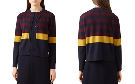HOBBS LONDON Claudia Color-Block Cardigan - 100% Exclusive - Bloomingdale's_2