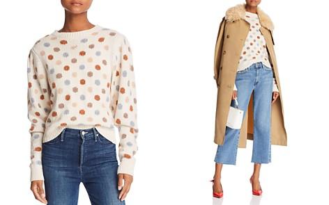 La Vie Rebecca Taylor Jacquard Dot Sweater - Bloomingdale's_2