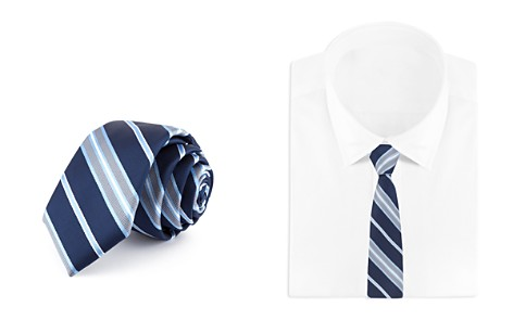 Bloomingdale's Boys Striped Tie - 100% Exclusive_2