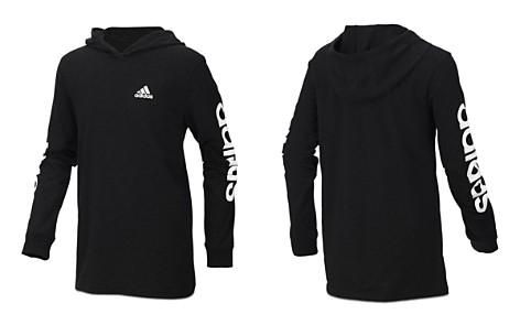 Adidas Boys' Branded Sleeve Hoodie - Big Kid - Bloomingdale's_2