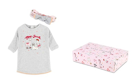 Little Marc Jacobs Girls' Llama Top & Headband Set - Baby - Bloomingdale's_2