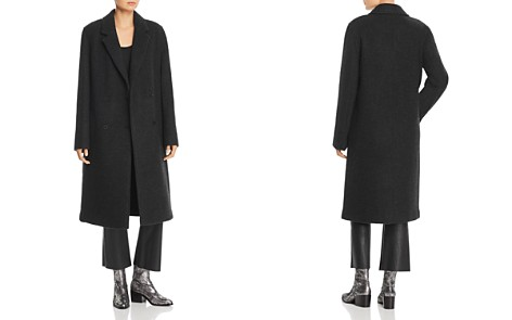 T by Alexander Wang Double-Faced Overcoat - Bloomingdale's_2