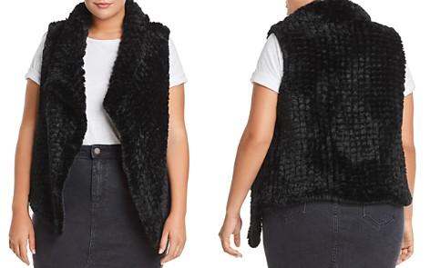 Bagatelle Plus Draped Faux-Fur Vest - 100% Exclusive - Bloomingdale's_2