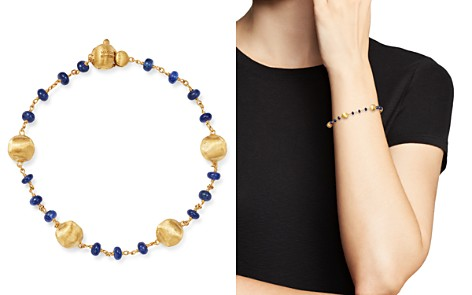 Marco Bicego 18K Yellow Gold Africa Precious Sapphire Beaded Bracelet - Bloomingdale's_2