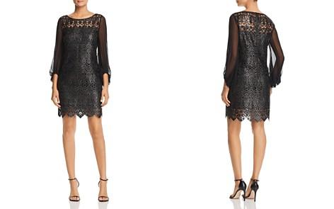 Elie Tahari Merida Metallic Embroidered Dress - Bloomingdale's_2