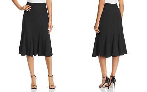 Elie Tahari Oakley Pinstripe Skirt - Bloomingdale's_2