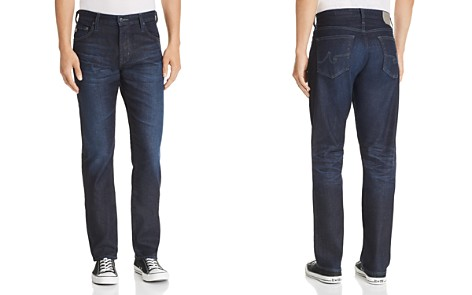 AG Athletic Straight Fit Jeans in 2 Years Twig - Bloomingdale's_2