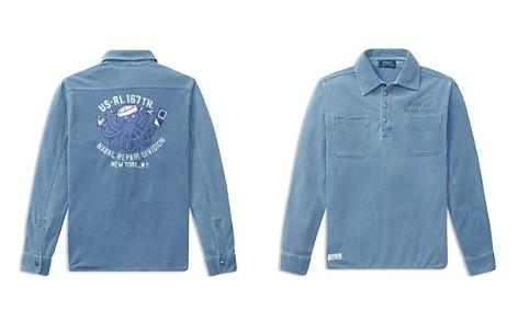 Polo Ralph Lauren Boys' Naval Repair Work Shirt - Big Kid - Bloomingdale's_2