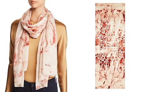 Max Mara Pascia Baroque Print Silk Scarf - Bloomingdale's_2