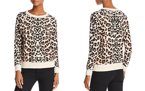 MOTHER The Square Leopard Print Sweatshirt - Bloomingdale's_2