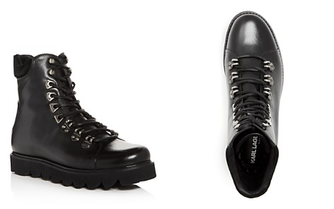 KARL LAGERFELD Men's Leather Boots - Bloomingdale's_2