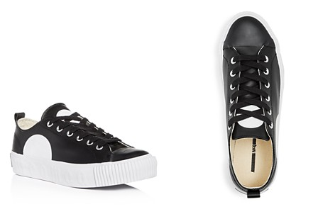 McQ Alexander McQueen Men's Plimsoll Leather Lace Up Platform Sneakers - Bloomingdale's_2
