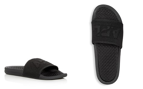 APL Athletic Propulsion Labs Men's Big Logo Techloom Knit Slide Sandals - Bloomingdale's_2