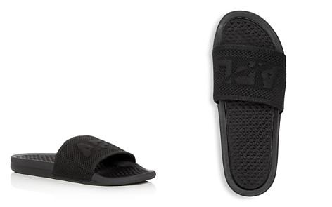 APL Athletic Propulsion Labs Men's Big Logo Techloom Knit Slide Sandals - Bloomingdale's_2
