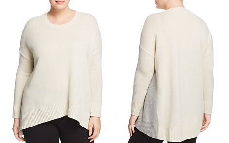 Eileen Fisher Plus Cashmere & Wool Sweater - Bloomingdale's_2