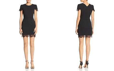Betsey Johnson Scuba Crepe Mini Dress - Bloomingdale's_2