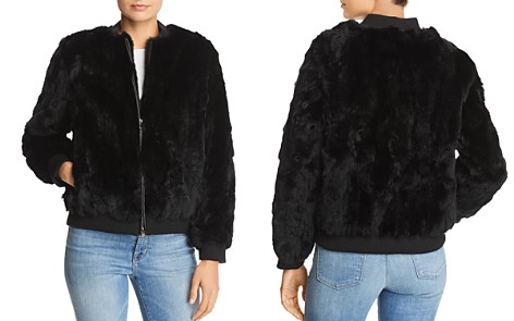 525 America Real Rabbit Fur Bomber Jacket - 100% Exclusive - Bloomingdale's_2