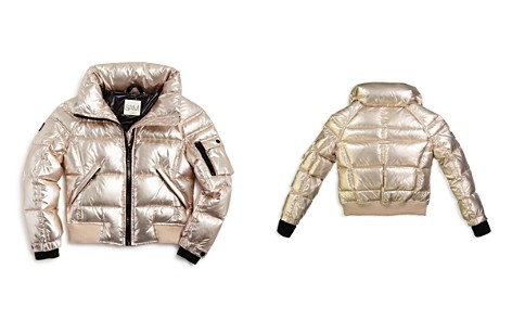 SAM. Girls' Freestyle Down Bomber Jacket - Big Kid - Bloomingdale's_2