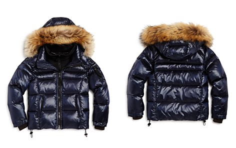 SAM. Boys' Mountain Fur-Trimmed Down Jacket - Little Kid - Bloomingdale's_2