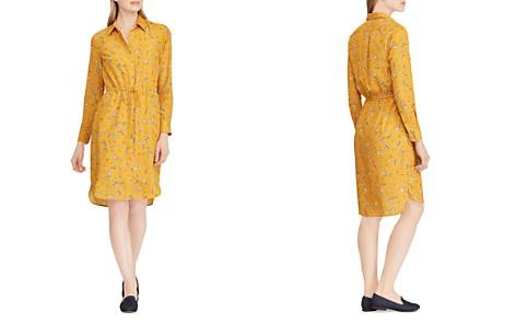 Ralph Lauren Floral Print Shirt Dress - Bloomingdale's_2