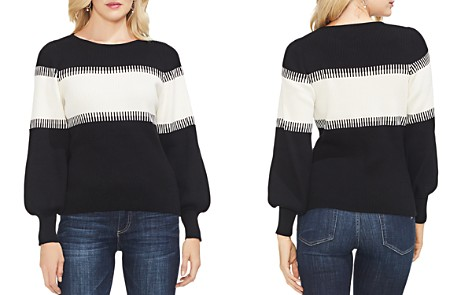 VINCE CAMUTO Color-Block Intarsia Sweater - Bloomingdale's_2