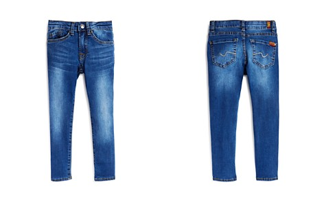 7 For All Mankind Boys' Slimmy Skinny Fit Jeans - Little Kid - Bloomingdale's_2