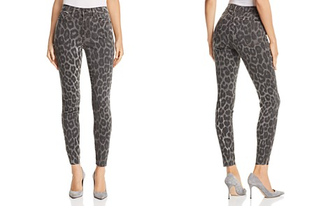 Joe's Jeans Charlie Ankle Skinny Jeans in Gray Leopard - Bloomingdale's_2