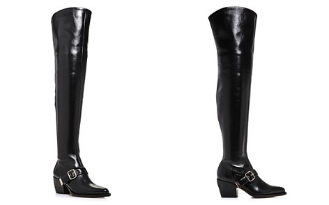 Chloé Women's Rylee Pointed Toe Tall Leather Boots - Bloomingdale's_2