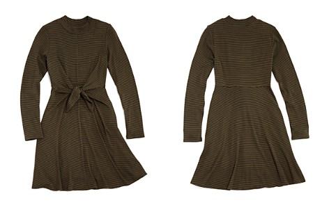 AQUA Girls' Tie-Front Dress, Big Kid - 100% Exclusive - Bloomingdale's_2