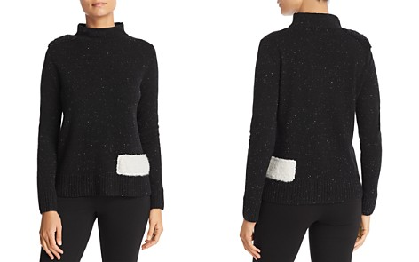 Lisa Todd Chloe Mixed Media Sweater - Bloomingdale's_2