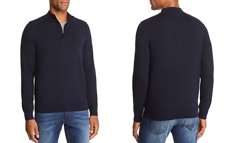 BOSS Esilvio Quarter Zip Pullover - 100% Exclusive - Bloomingdale's_2