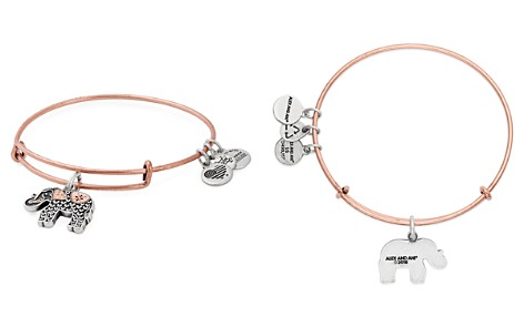 Alex and Ani Elephant III Cuff Bracelet - Bloomingdale's_2