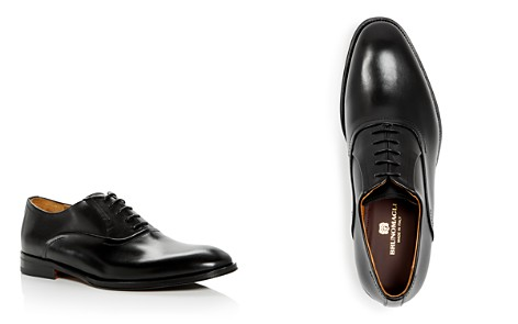 Bruno Magli Men's Dino Leather Plain Toe Oxfords - 100% Exclusive - Bloomingdale's_2