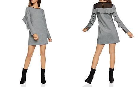 BCBGeneration Ruffled Striped Shift Dress - Bloomingdale's_2