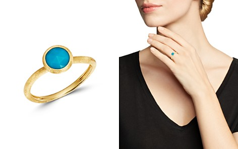 Marco Bicego 18K Yellow Gold Jaipur Color Turquoise Ring - Bloomingdale's_2
